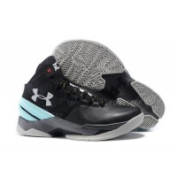 For Sale Under Armour Curry Two UA 2 Black Grey Jade Basketball Shoe Sale