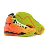 Cheap Under Armour ClutchFit Drive UA Curry 2 PE Orange Volt Green Black Basketball Shoes