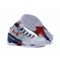 Hot Under Armour Curry 2 USA Steph Curry Basketball Shoes For Sale