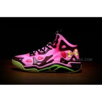 Hot Under Armour Micro G Anatomix Spawn 2 Pinkadelic Black Hyper Green