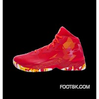 Under Armour Curry 2.5 'Chinese Red' New Style B5DyxD