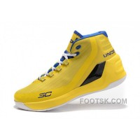 Best Under Armour Curry 3 Yellow Royal Blue New Mens Shoes Cheap To Buy ZRxkN