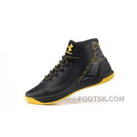 Buy Under Armour Curry Three Black Yellow Cheap Mens Shoes Online MHFsHb