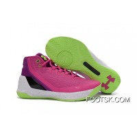 Cheap Under Armour Curry 3 Pink/Purple -Black/White Online N4R2rGK