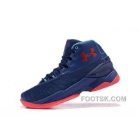 Buy Under Armour Curry 3.5 Blue Red Mens Shoes For Sale PyCwY8