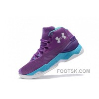 For Sale Cheap Under Armour Curry 3.5 Purple Blue Mens Shoes NsD78