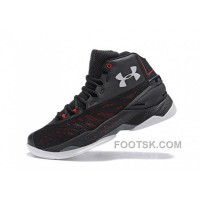 Disocunt Under Armour Curry 3.5 Black Grey Red Mens Shoes Super Deals H7eZdz