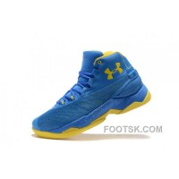 Good Under Armour Curry 3.5 Blue Yellow Mens Shoes Top Deals J65XGWs