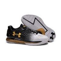 Under Armour Curry One Low Black/White-Gold
