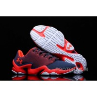 Under Armour Phenom Proto Trainer Red Deep Blue Sneaker For Sale NNDww