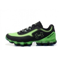 Under Armour Scorpio Black Green Cheap UA Mens Shoes For Sale Cd4ZJxM