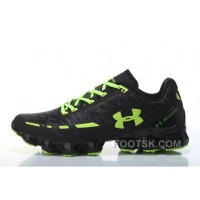 Under Armour Scorpio Black Light Green Cheap UA Mens Shoes Online HdRcGE