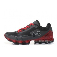 Free Shipping Under Armour Scorpio Black Red Cheap UA Mens Shoes EXMKph