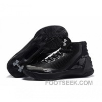 Under Armour Stephen Curry 3 Shoes Black Silver
