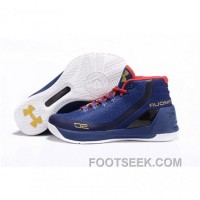 Under Armour Stephen Curry 3 Shoes Blue White Black