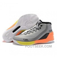 Under Armour Stephen Curry 3 Shoes Grey White