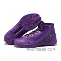 Under Armour Stephen Curry 3 Shoes Purple