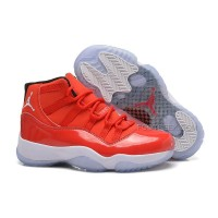 Girls Air Jordan 11 Retro GS Carmelo Anthony PE Red/White For Sale Womens Size