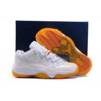Girls Cheap Air Jordan 11 GS Low Citrus Online Womens Size For Sale