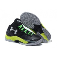 Under Armour GS Curry 2 Women Green Black Sneaker Authentic KkcFZeF