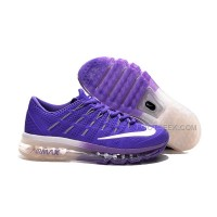 Womens Nike Air Max 2016 Purple/White