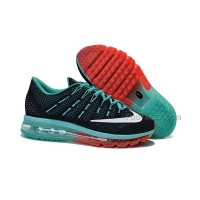 Womens Air Max 2016 Black/Mint-Red