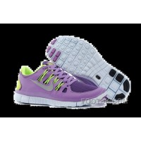 Nike Free 5.0 Womens Purple Fluorescence Green Running Shoes New Style
