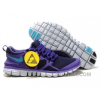 Womens Nike 3.0 V3 Obsidian/Pure Purple-Turquoise Blue Running Shoes Free Shipping