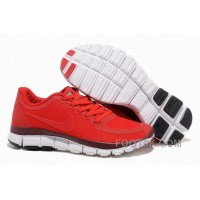 Womens Nike Free 5.0 V4 Red Running Shoes Cheap To Buy