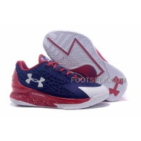 Womens Under Armour Curry One Low Purple Red White Discount
