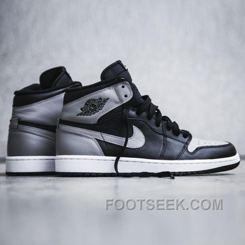 ... 555088-014 Air Jordan Black Toe 1s Retro High OG Black Grey ( Men  Air  Jordan 1 ... 700bb0f3a0