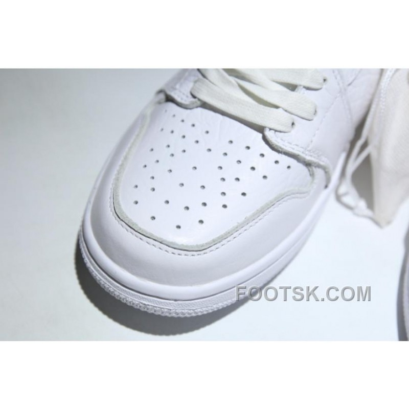 d9a542a5072f48 AIR Jordan 1 Air Retro Low Ns 872782-100 All White Authentic