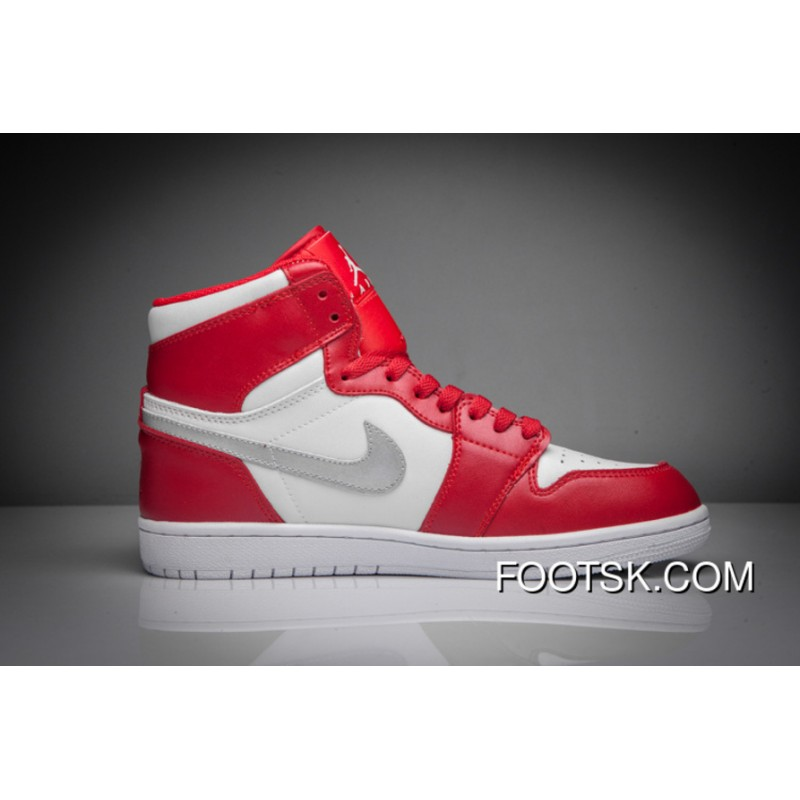 """new product 7f846 6a9de 2016 """"Silver Medal"""" Air Jordan 1 Retro High Gym Red/Metallic Silver-White  New Release 8DQE5"""