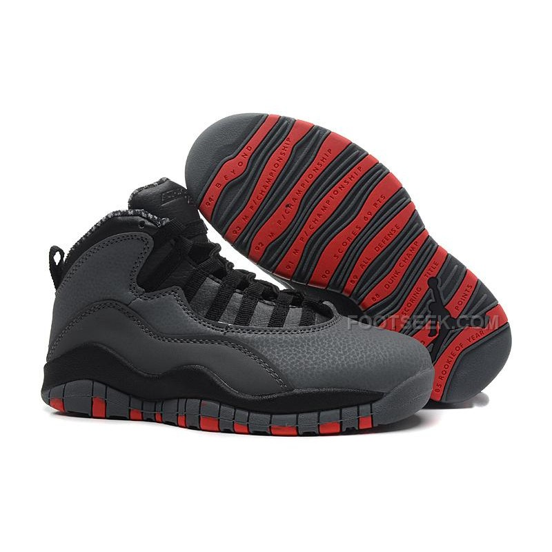 d935008e7d5f Air Jordan 10 (X) Retro Cool Grey Infrared-Black For Sale Online ...