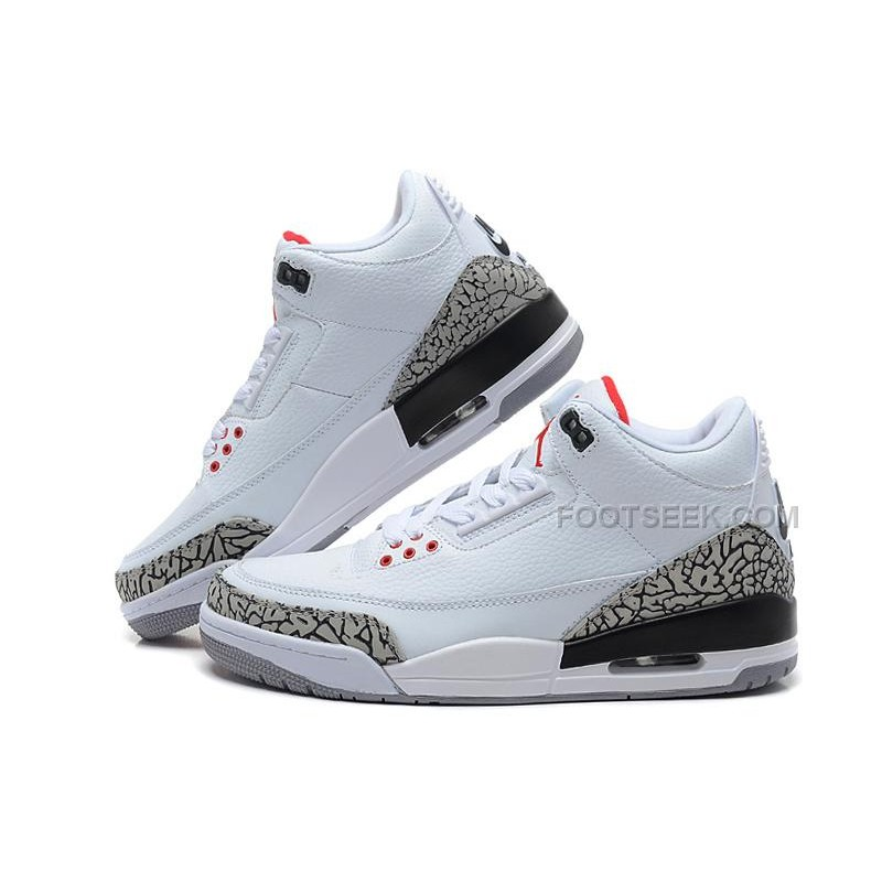 official photos b6d43 c964a For Sale Air Jordan 3 Retro '88 White/Black-Cement Grey