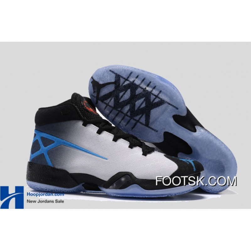 "more photos 602eb 43451 ""Photo Blue"" Air Jordan 30 XXX PE White Black-University Blue Top  "" ..."