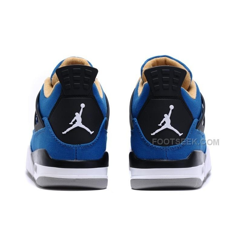 000d116a9cb245 ... Eminem x Carhartt x Air Jordan 4 Canvas Game Blue Black-White-Grey ...