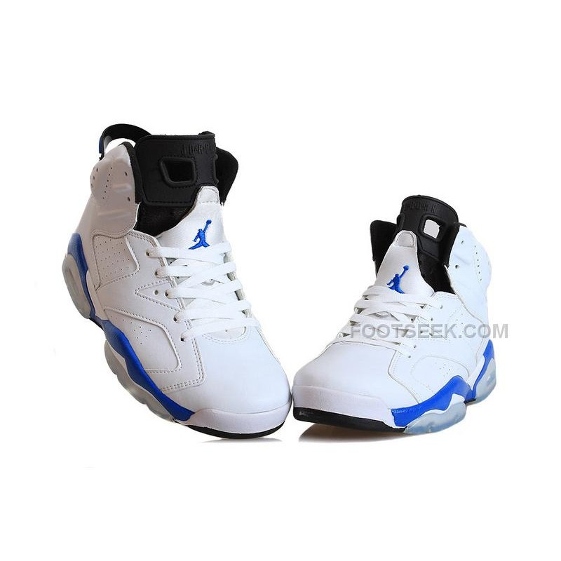 "sports shoes db2db 178bd Big Discount Air Jordan 6 Retro ""Sport Blue"" Basketball Shoes Online"