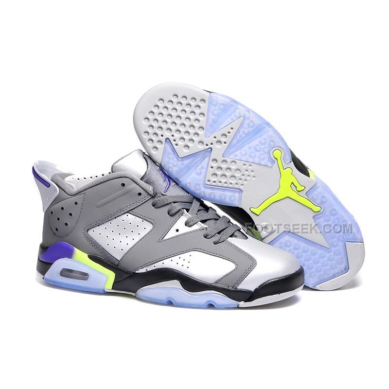 new arrivals f577d 14ce2 ... czech air jordan 6 retro low dark grey ultraviolet wolf grey ghost  green 0c234 68a71