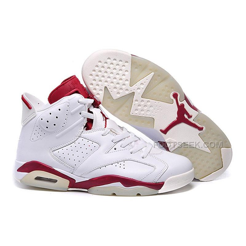 best loved a64f1 794f7 Air Jordan 6 Retro White Varsity Red Sale Online ...