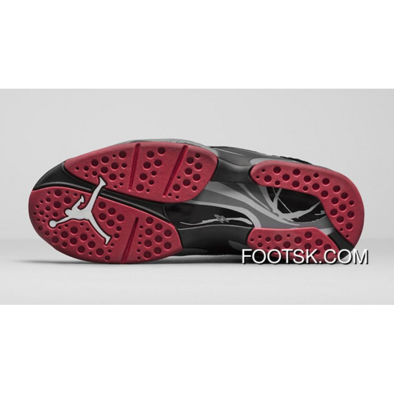 83b309a79 Air Jordan 8 Cement-Black Gym Red-Black-Wolf Grey- Releasing Free ...