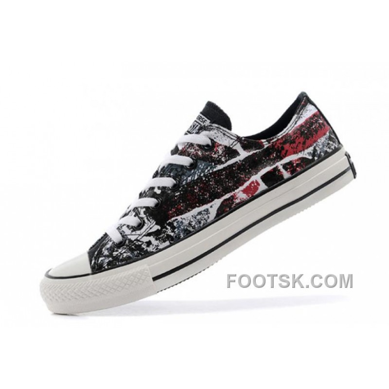 8cf2682180ab Lastest Chuck Taylor Flag Union Jack Rock CONVERSE British Flag All Star  Noise Sneakers