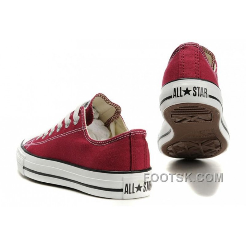 CONVERSE Chuck Taylor All Star Maroon Canvas Shoes Xmas Deals