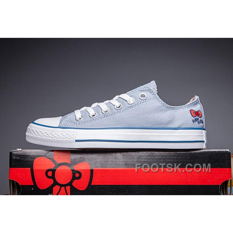 new style 3ee61 71958 Blue CONVERSE Hello Kitty Chuck Taylor All Star Online, Price ...