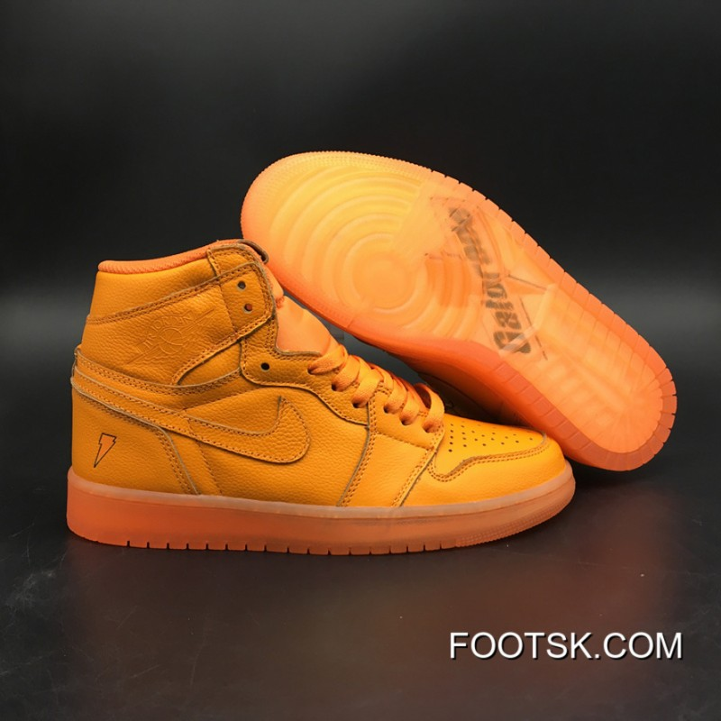 lowest price e9f1b c1d07 Air Jordan 1 Generation 1 Og High Gatorade Orange Version Level Sku Air 5  Number 7 To 13 997-880 Yards Authentic