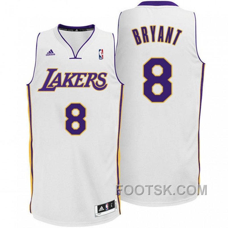 Kobe Bryant Los Angeles Lakers #8 Sunday White Jersey Copuon Code
