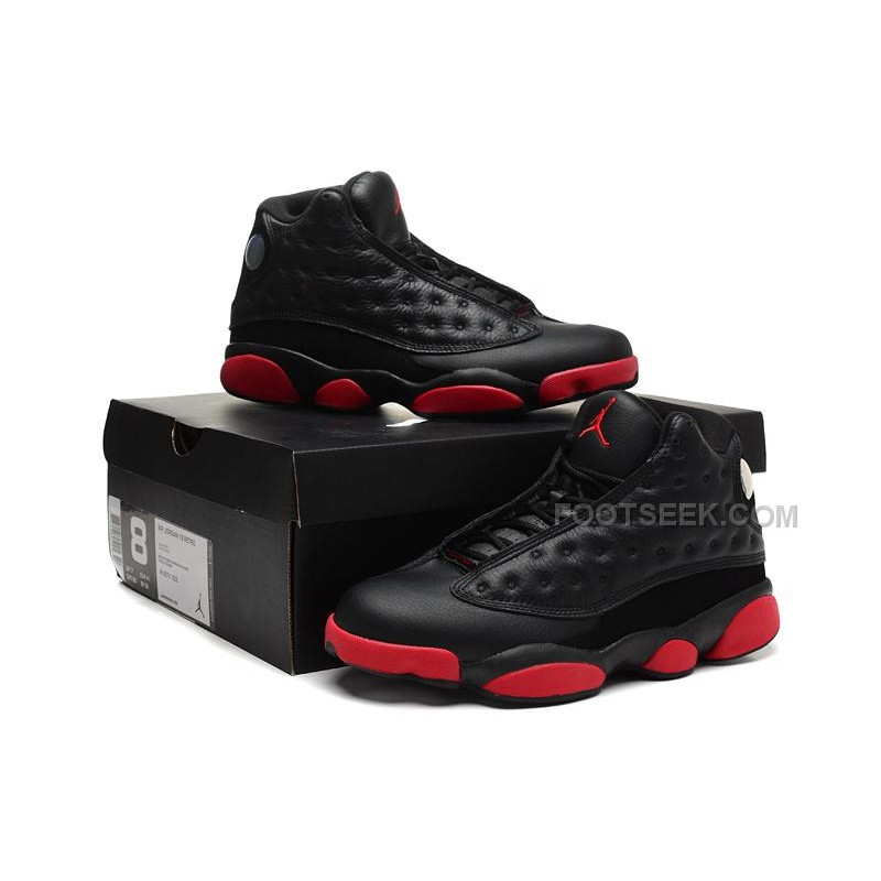 Jordan XIII 13 Infrared 23 Black and Gym Red Good Sale