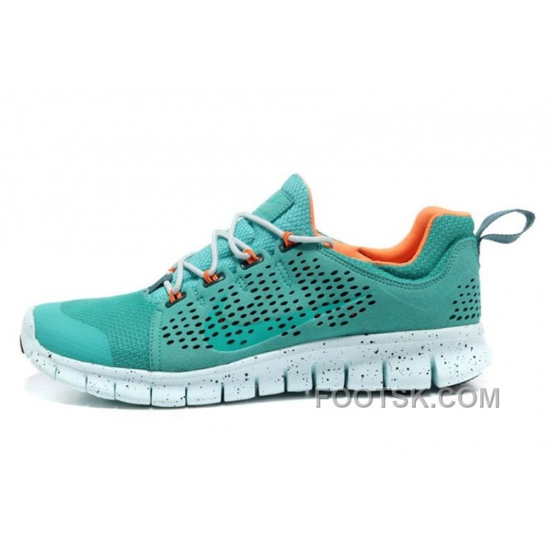 Nike Free Powerlines 2 Mens Green Orange Shoes Top Deals