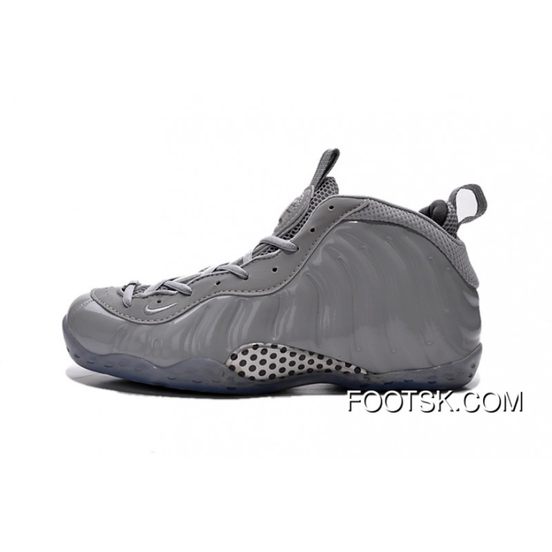 2016 Nike Air Foamposite One Premium Wolf Grey Super Deals