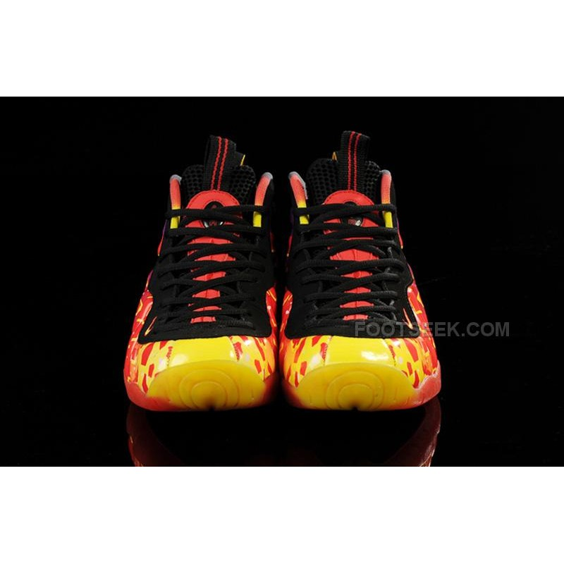 "079d2c81cea ... Nike Air Foamposite Pro ""Asteroid"" Fire Black For Sale Online Discount  ..."